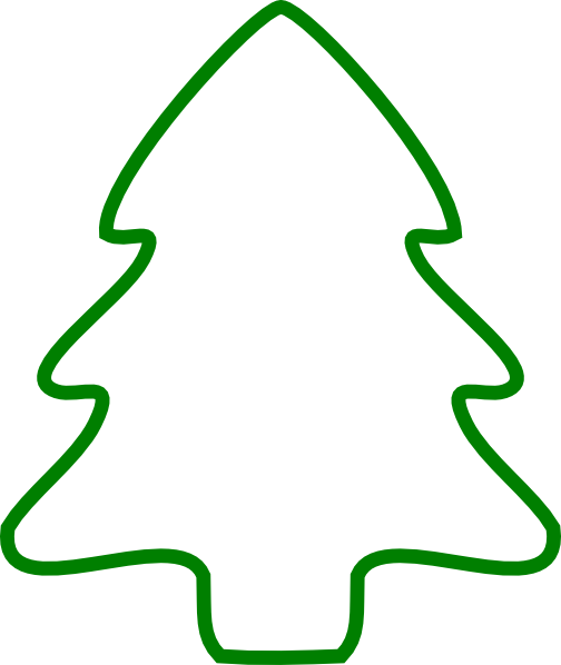 Christmas Tree Outline Domitian Org
