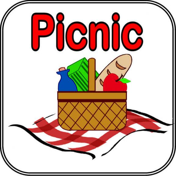 Church Picnic Clip Art