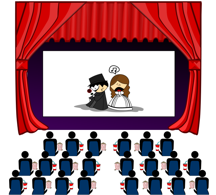 Movie Theater Clipart #16632