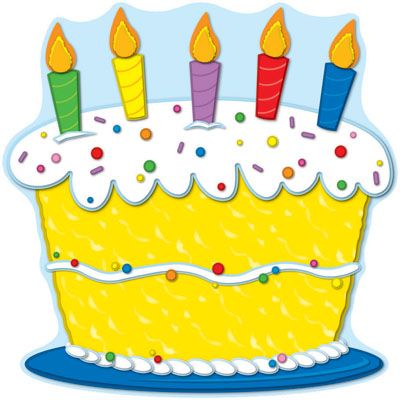 Images Of Birthday Cakes Clip Art