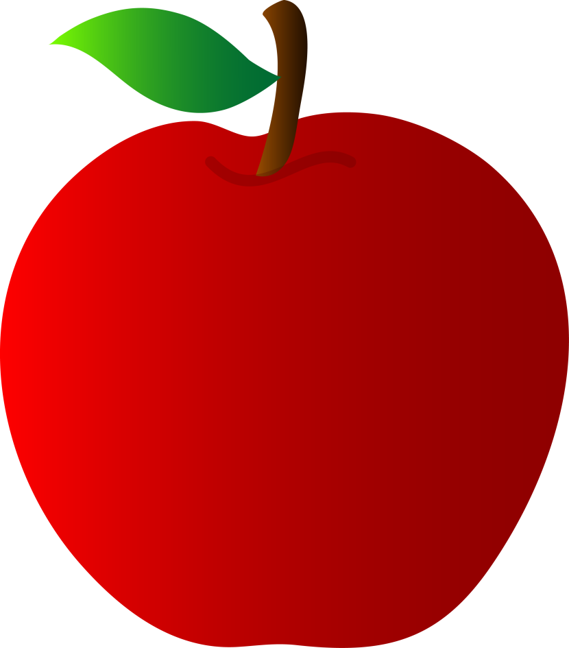 clipart picture of apple - photo #22