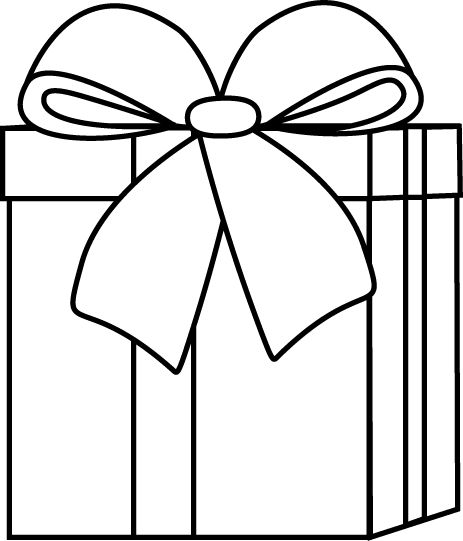Clip Art Black And White Black And White Christmast Clip Art