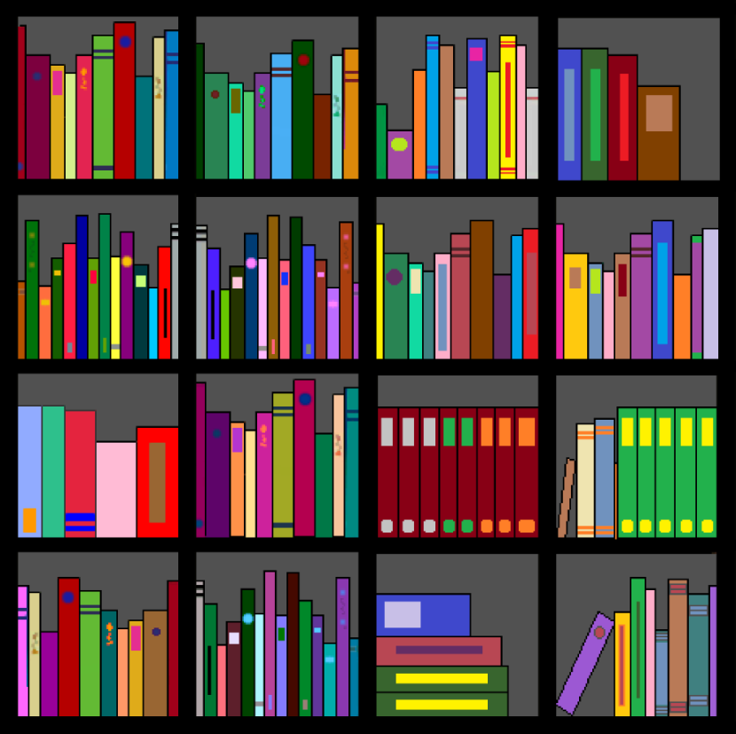 library shelves clipart - photo #16