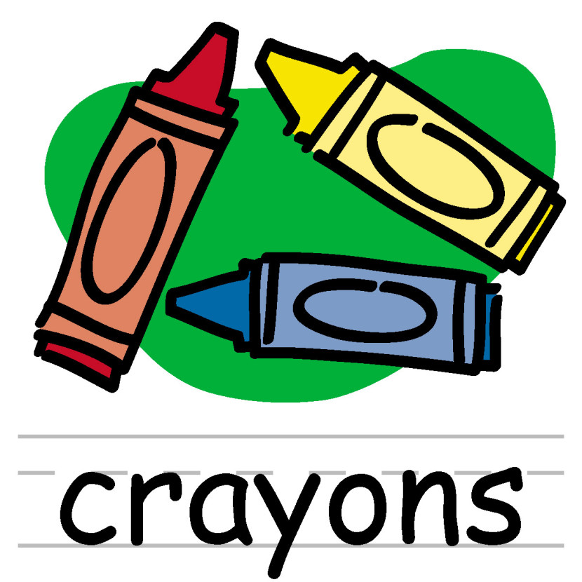 Clip Art Crayon Box Color Abcteach