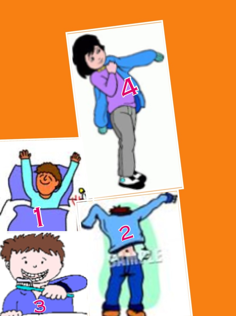 Clip Art Getting Dressed For School Clipart Free Clipart