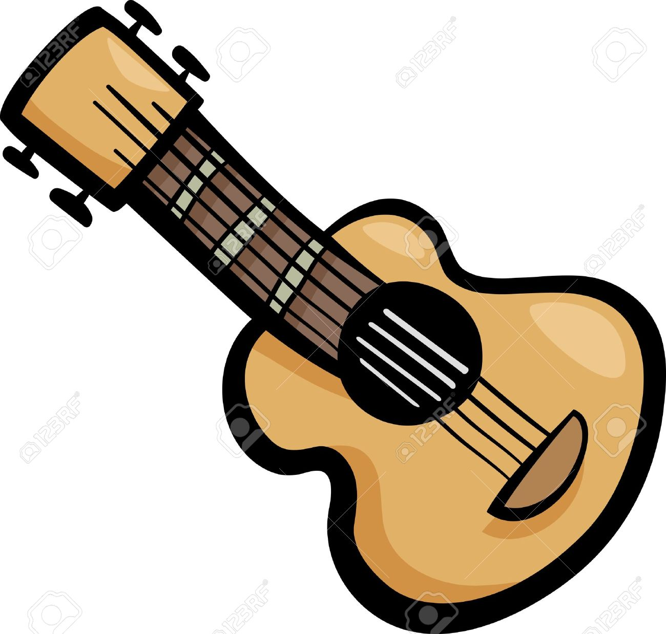clip art guitar pictures - photo #42