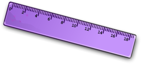 Clip Art Measuring With Centimeter Ruler Clipart