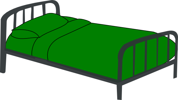 Clip Art Of Bed