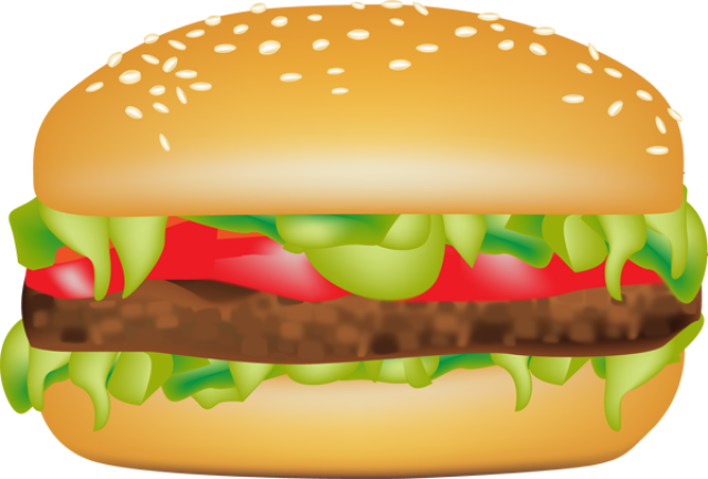 Clip Art Of Hamburgers And Sandwiches