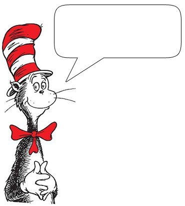 Clip Art Of Many Different Characters From Dr Seuss That You Can