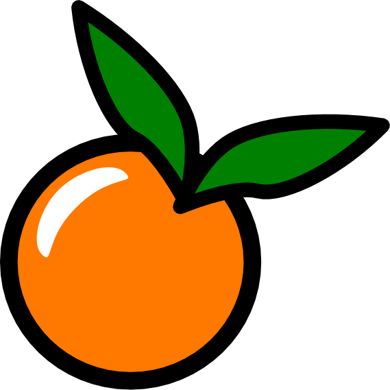 Clip Art Orange