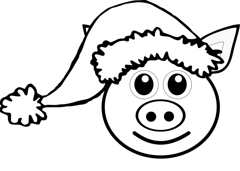 Clip Art Palomaironique Pig Face Cartoon Pink