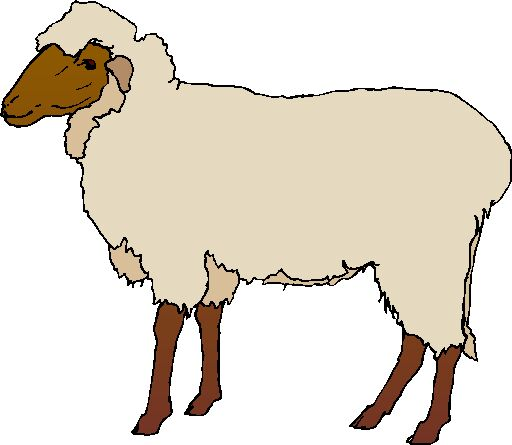 Clip Art Sheep With Grass Easter Powerpoint Clipart Free Clip