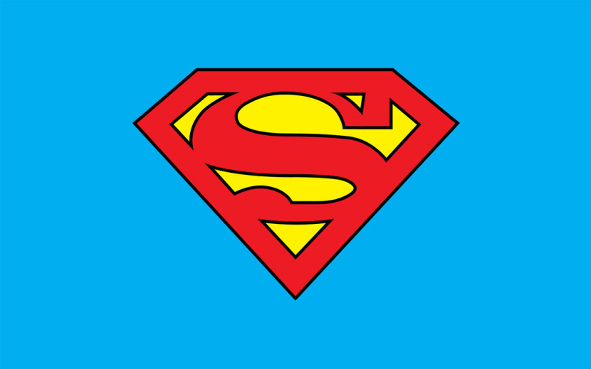 Clip Art Superman Logo With C Clipart