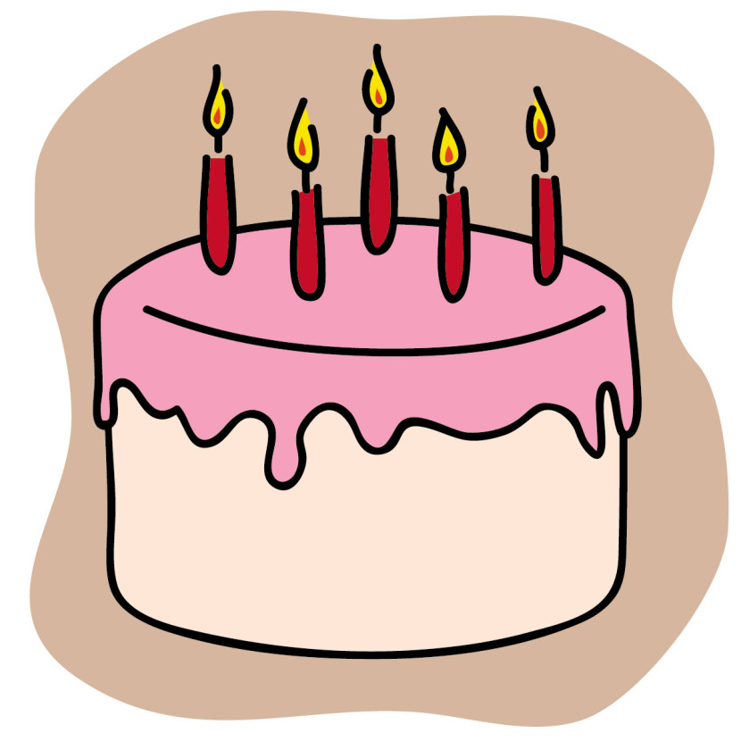Clipart Birthday Cake With A Cat Free Clipart Images