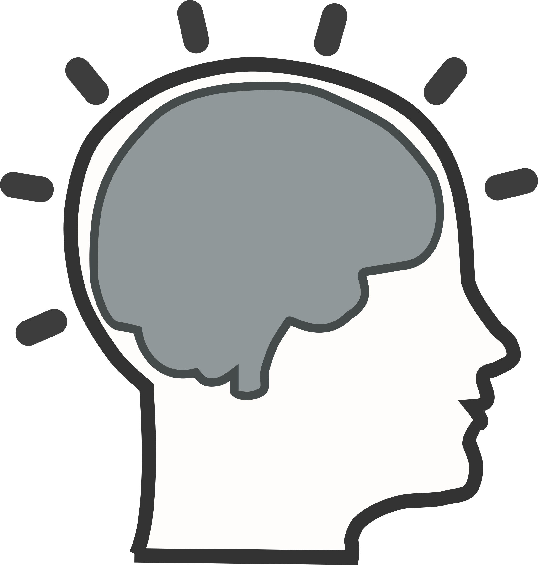 Brain psychology. Best clipart clipartion com