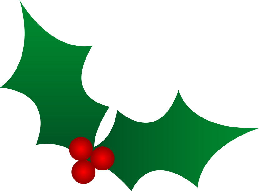Clipart Christmas Holly Free Clipart Images