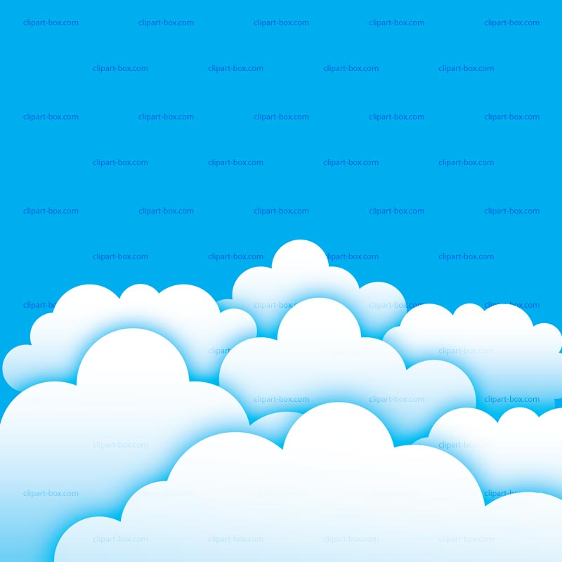 Clipart Clouds And Sky Royalty Free Vector Design