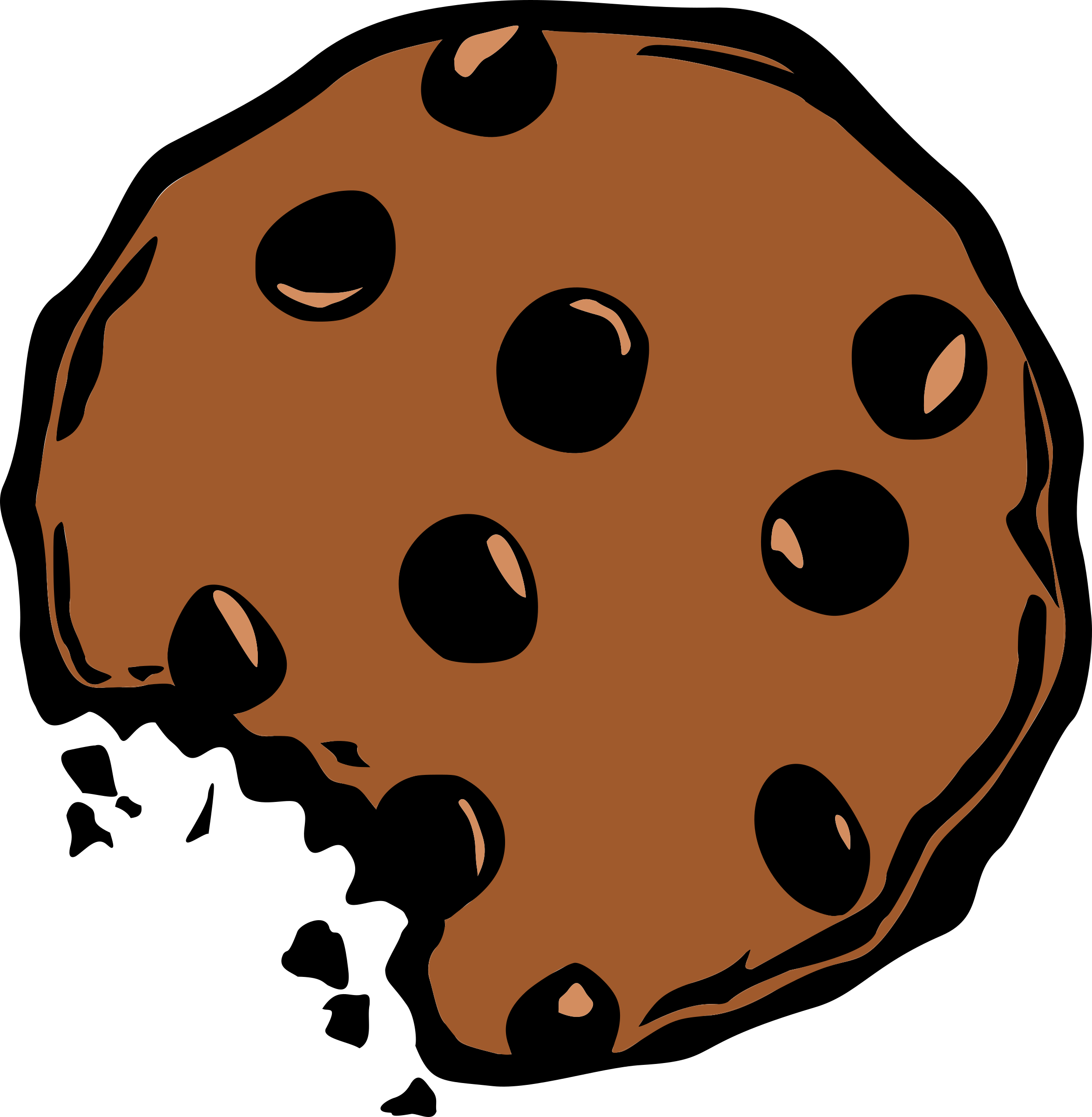 Best Cookie Clipart #9624 - Clipartion.com