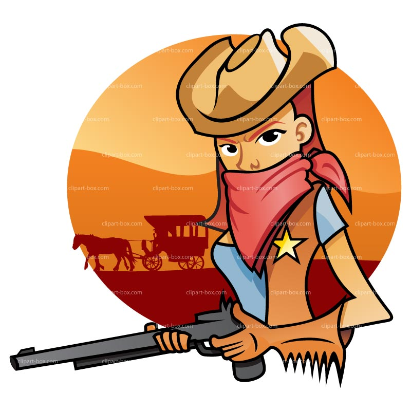 Clipart Cowgirl Royalty Free Vector Design