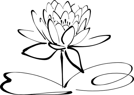 Clipart Flowers Black And White Free Clipart Images