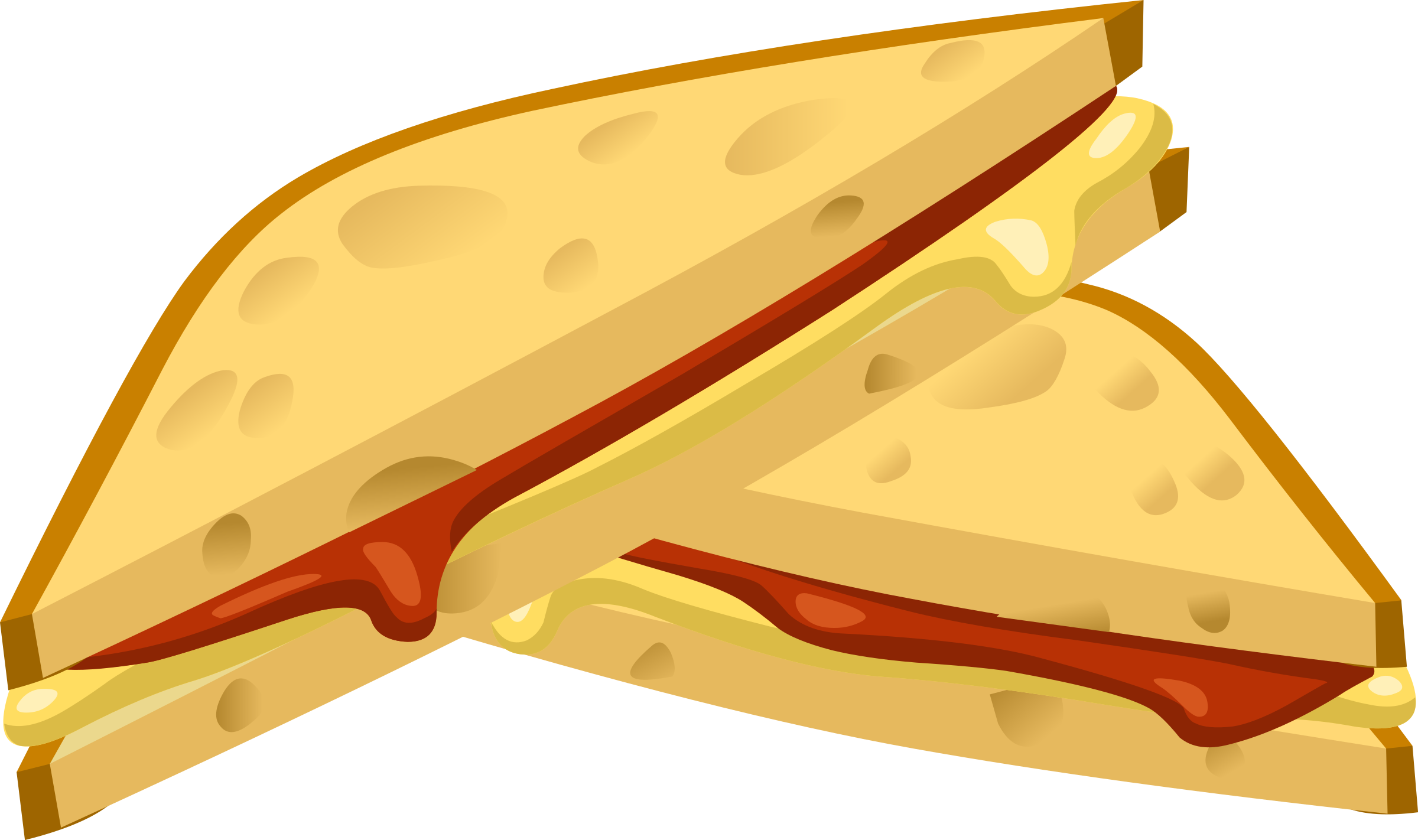 Clipart Food Expensive Grilled Cheese