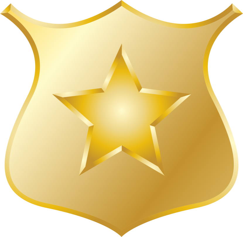 Best Police Badge Clipart 14783 Clipartion Com