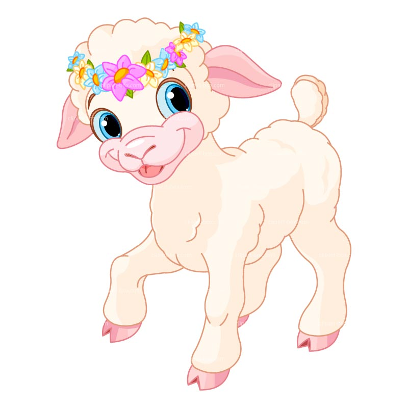 Clipart Lamb Royalty Free Vector Design