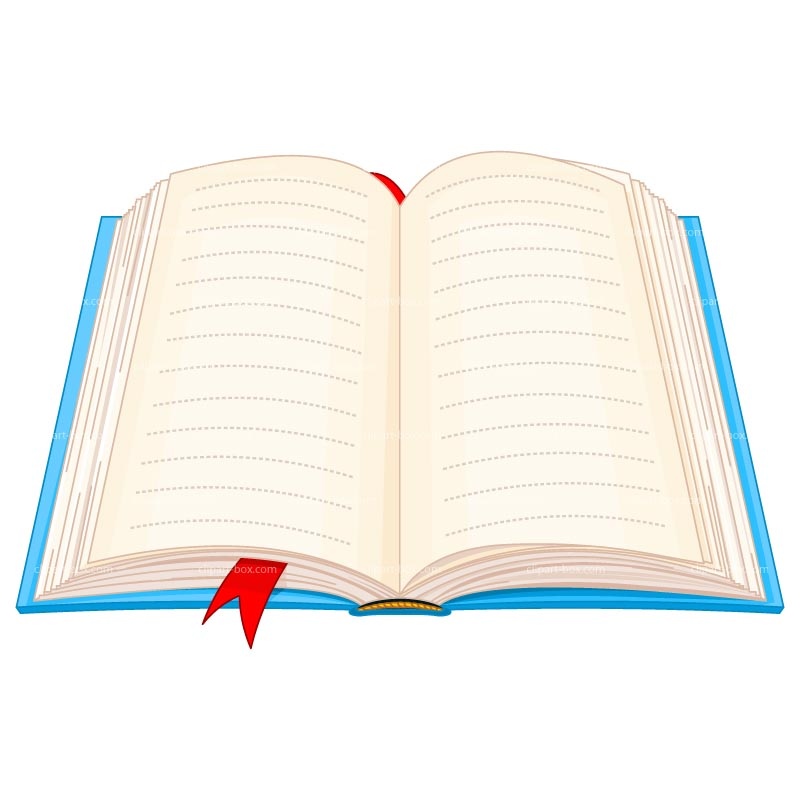 Clipart Open Book Royalty Free Vector Design