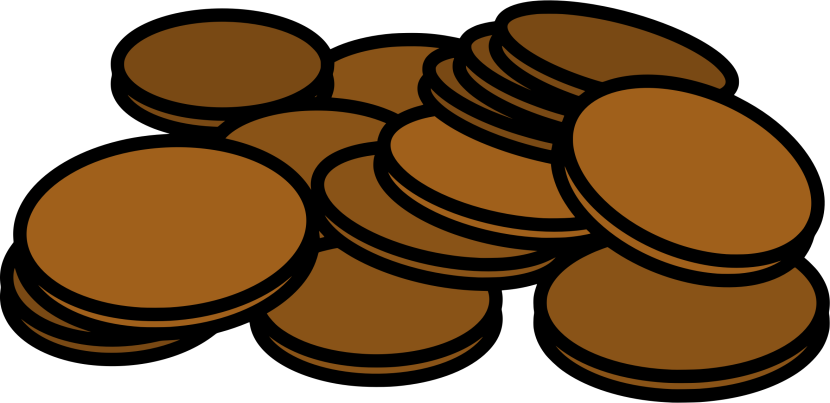 Clipart Pennies