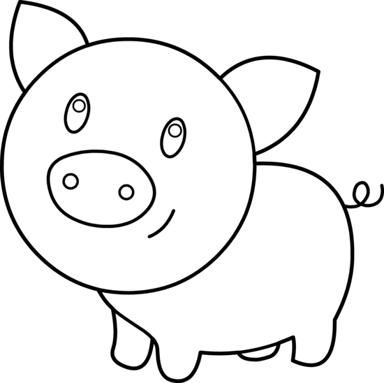 Pig Face Clip Art - Clipartion.com