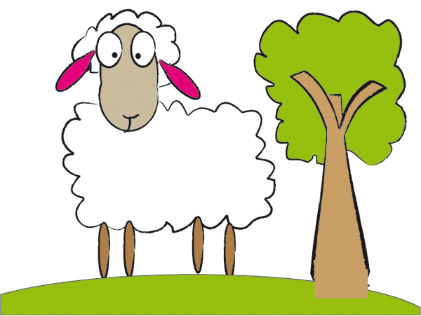 Clipart Sheep 4 Png