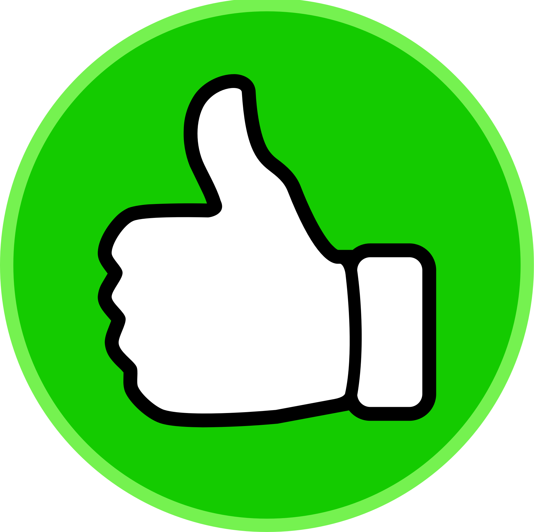 Best Thumbs Up Clipart #22075