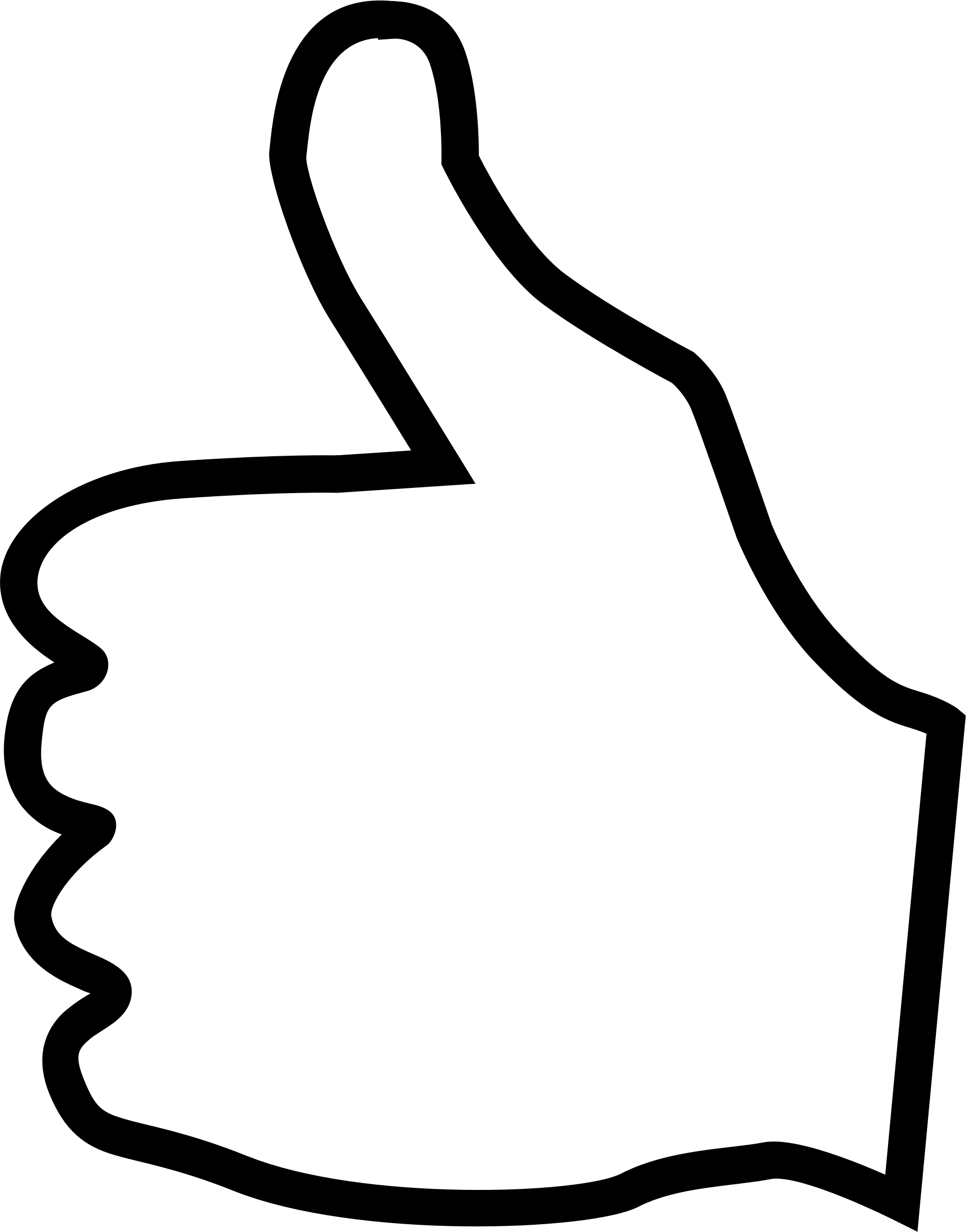 Clipart Thumbs Up