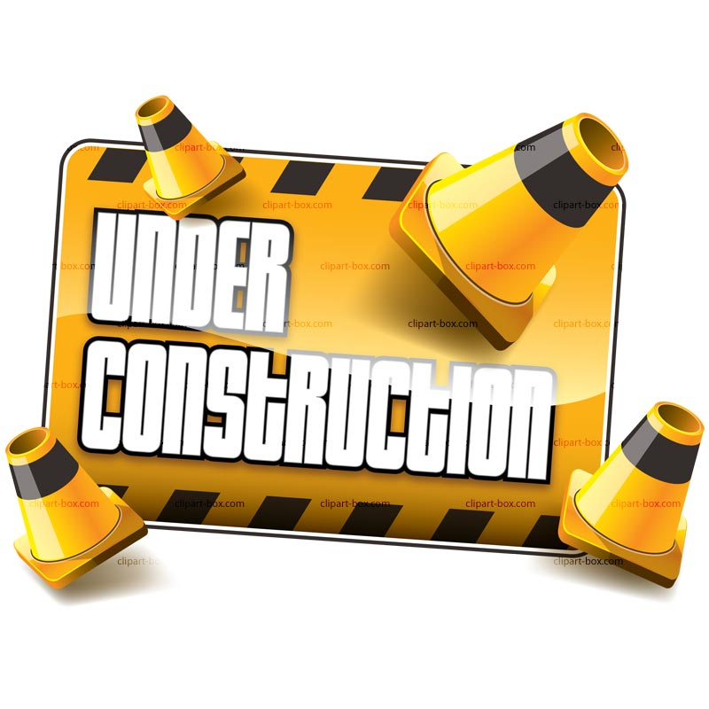 Clipart Under Construction Sign Royalty Free Vector Design