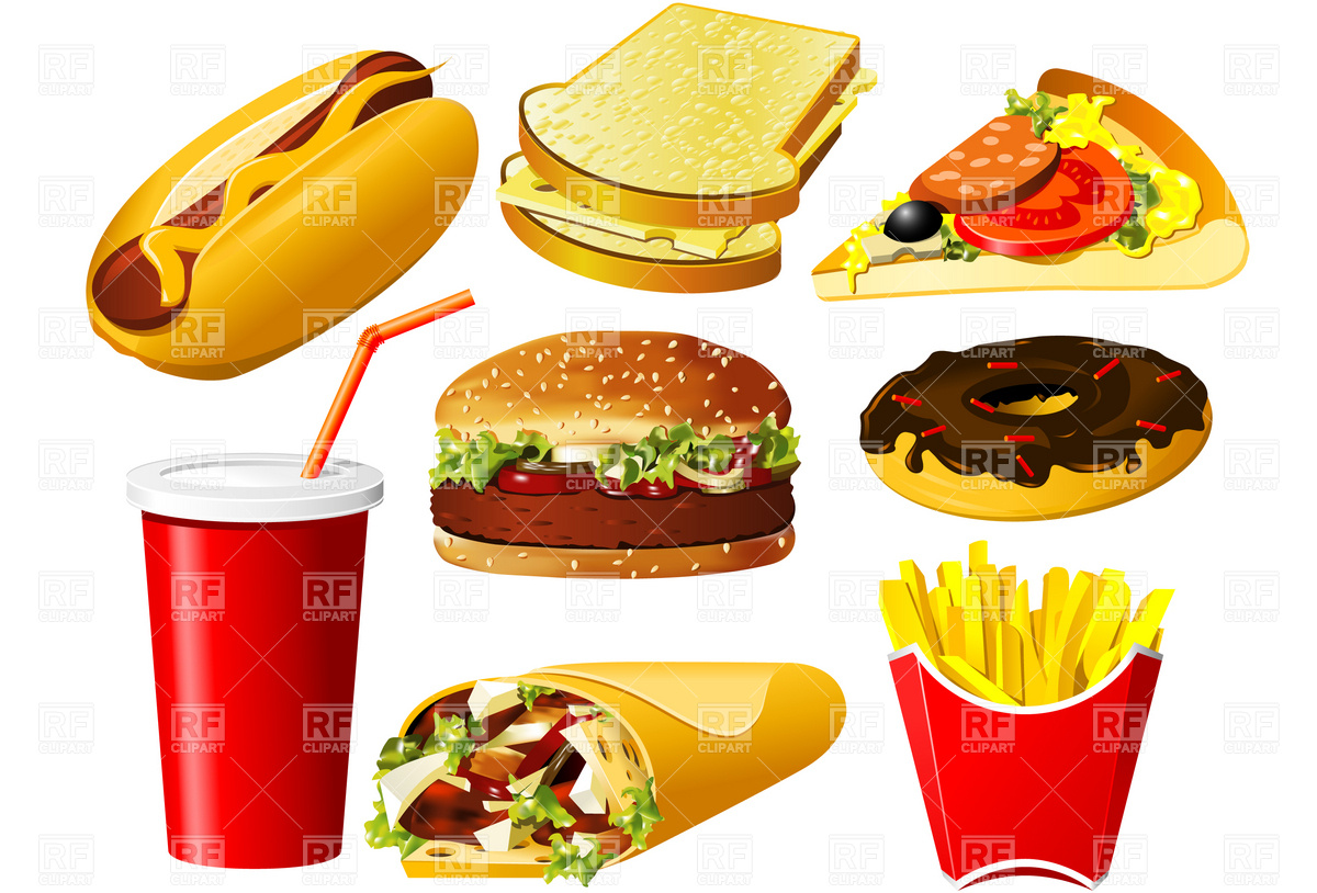 best junk food clipart 16424 clipartion com Free Winter Holiday Clip Art Free Page Borders Holiday