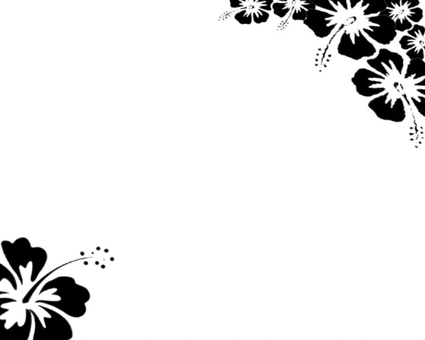 Black And White Clipart Nature