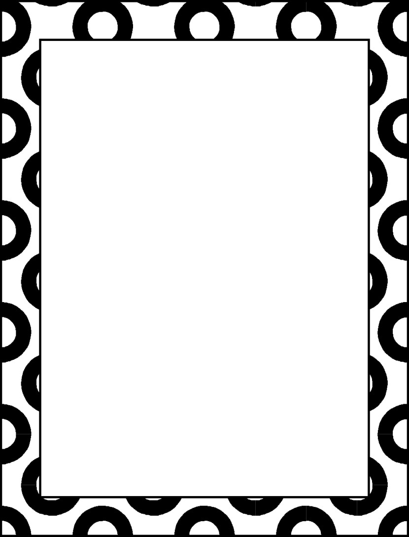 Cliparti1 Black And White Borders