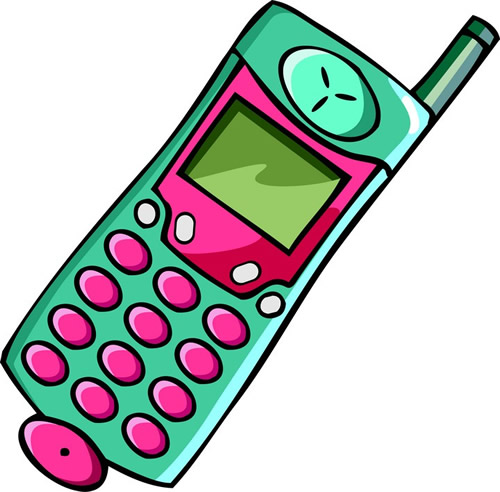 Cliparti1 Cell Phone Clipart