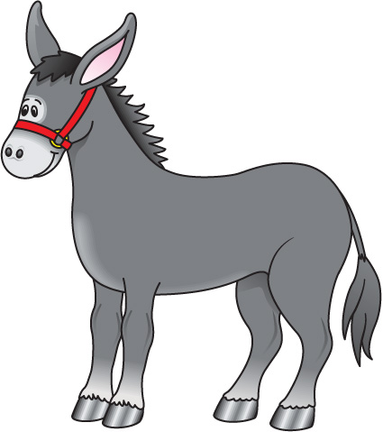 Best Donkey Clipart #12296 - Clipartion.com