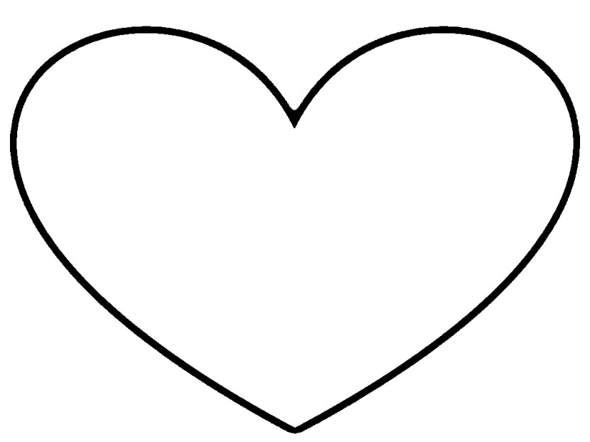 Best Black And White Heart Clipart #20633 - Clipartion.com