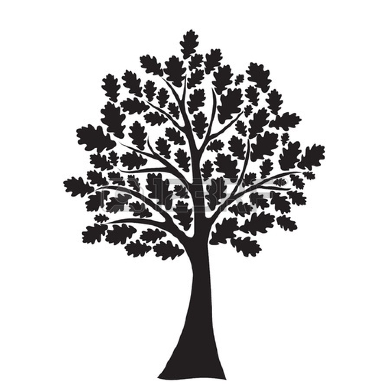Best Tree Clipart Black And White #18966 - Clipartion.com