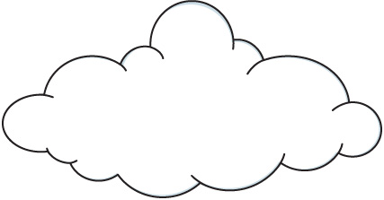 Cloud Clip Art Black And White Free Clipart Images