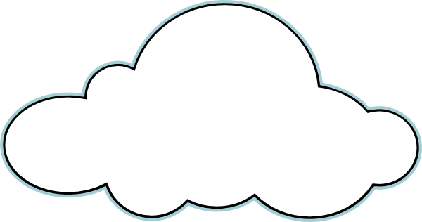 Cloud Outline Clipart Free Clipart Images