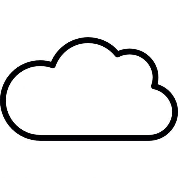 Cloud Outline Icons Free Download