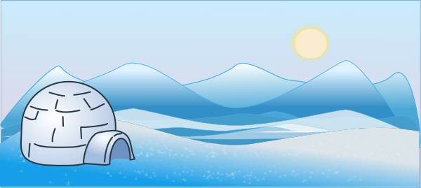 Cold Climate Scene Clip Art At Vector Clip Art Online