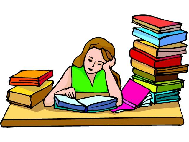 College Student Studying Clipart Free Clipart Images