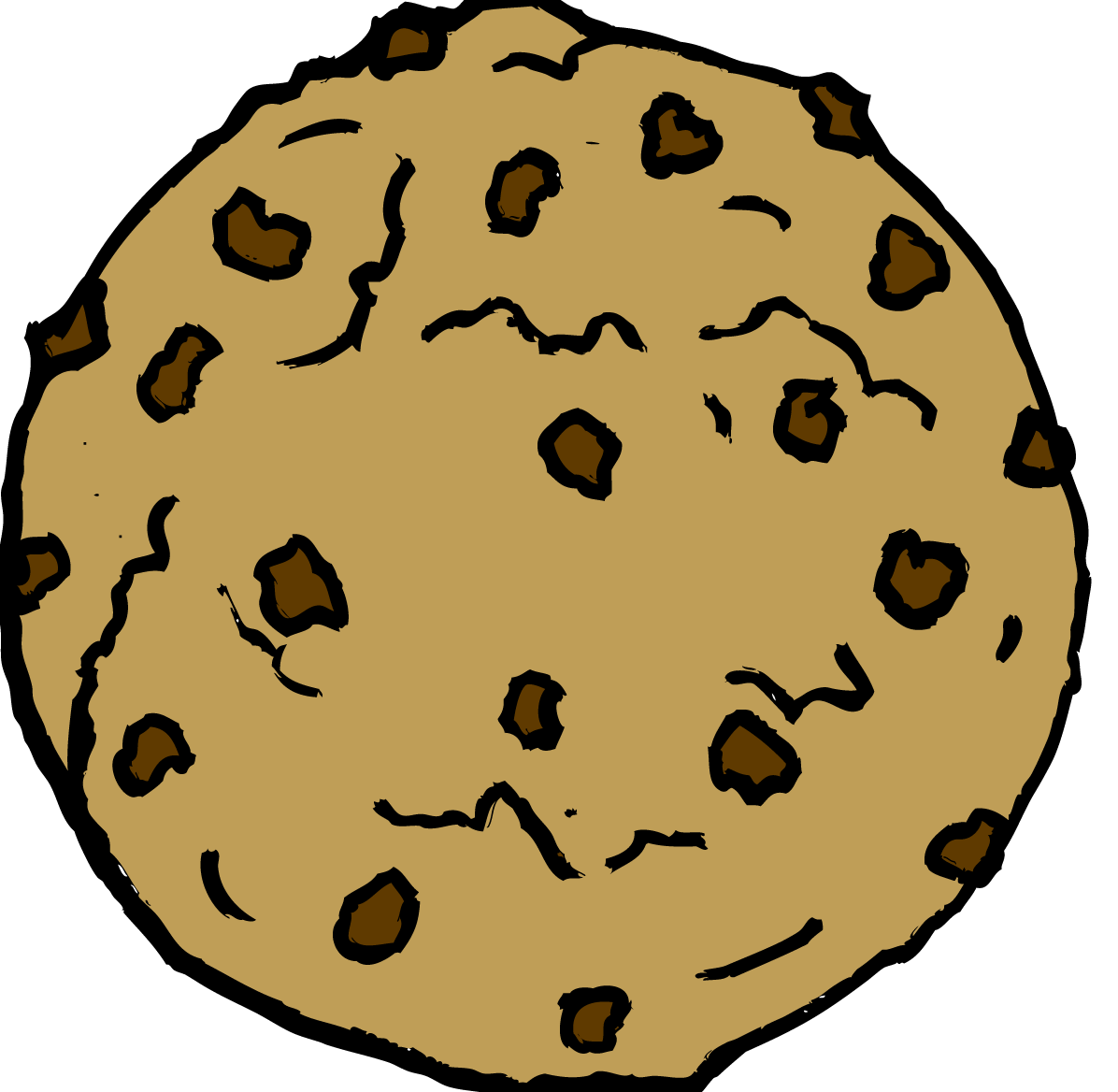 clipart cookie cookies clip chocolate chip clipartion