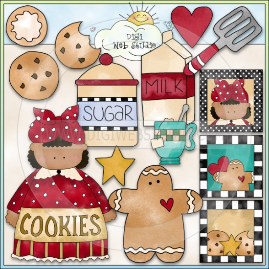 Cookie Jar Clip Art Invitation Samples Blog
