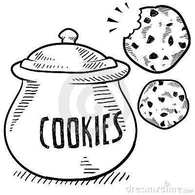 Cookie Jar Royalty Free Stock Photography Image